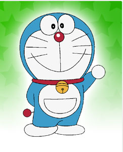 Doraemon: The time-traveling lesson-teaching robotic cat from the eponymous Doraemon franchise.